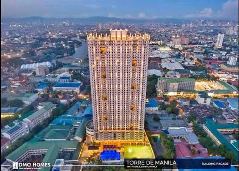 Condominium Bed and Rooms for Rent in Ermita Manila