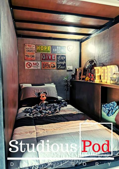 Capsule Bed and Rooms for Rent in Quezon City